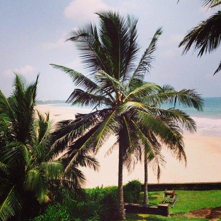 Saman Villas: Overlooking the beach and ocean