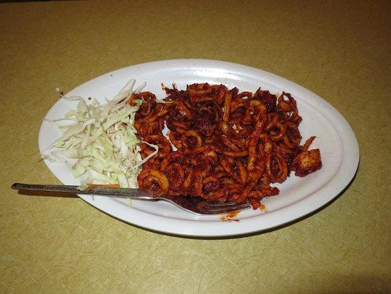 George Bar and Restaurant: Squid masala fry