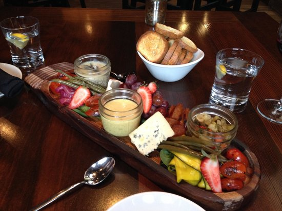 The Livery: Charcuterie Board for two