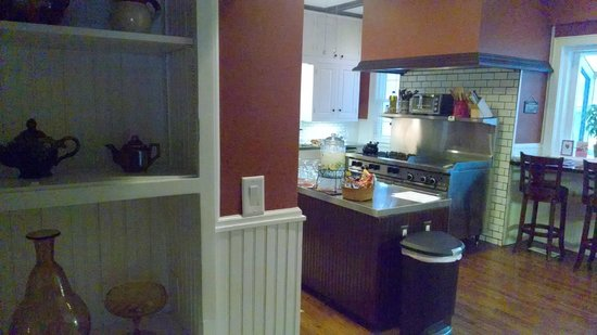 Hawthorne Park Bed and Breakfast: Kitchen Area