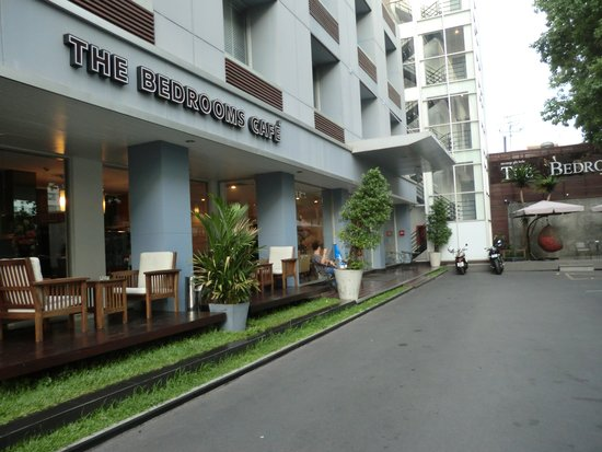 The Bedrooms Boutique Hotel: 入口