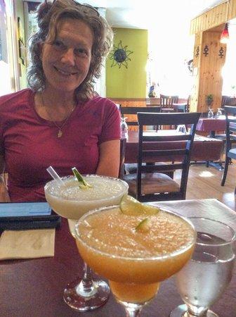La Conquistadora: Margaritas... Lime...Mangue...
