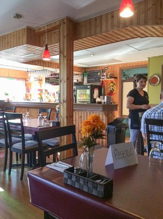 La Conquistadora: Intérieur du restaurant