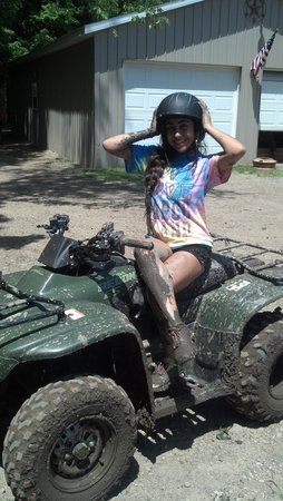 KJC ATV Rentals and Trails of South Haven: mud princess