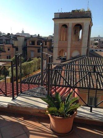 La Lumiere di Piazza di Spagna: Rooftop terrace for everyone