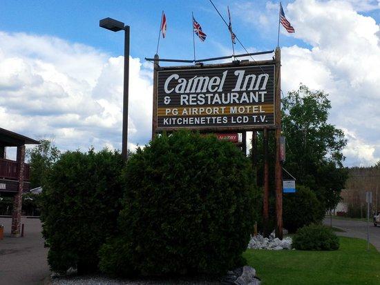 Carmel Inn: Signage