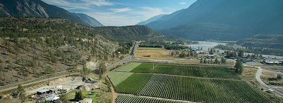 Fort Berens Estate Winery : The Fraser Canyon