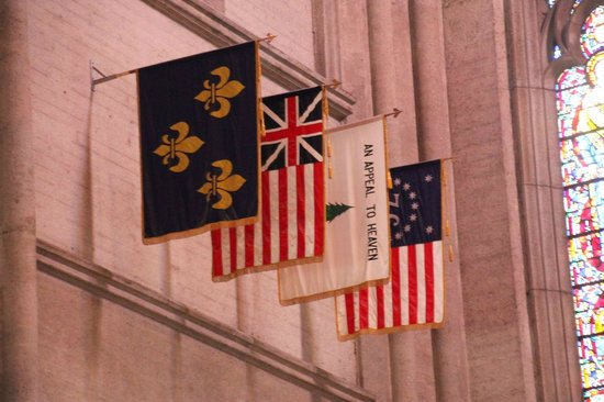 Grace Cathedral: Flags
