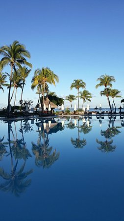 Sofitel Mauritius L'Imperial Resort & Spa : View from Ravinala main restaurant