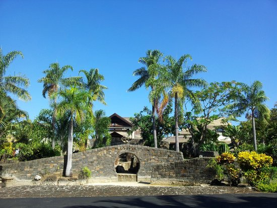 Sofitel Mauritius L'Imperial Resort & Spa : Entrance