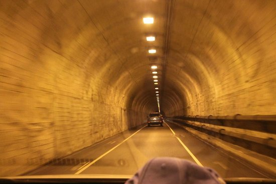 Marin Headlands: The tunnel to the headlands