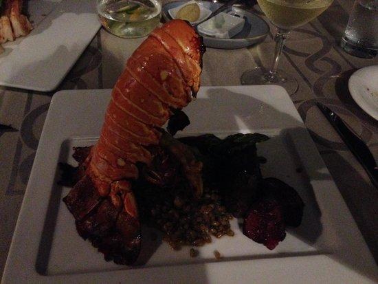 Secrets The Vine Cancun : Big lobster at Olio