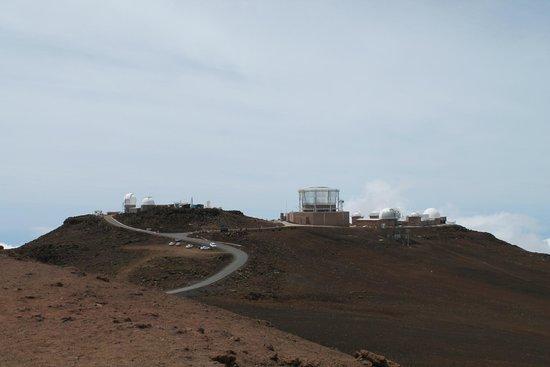 Haleakala Crater: observatory