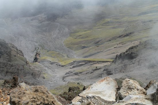 Haleakala Crater: view