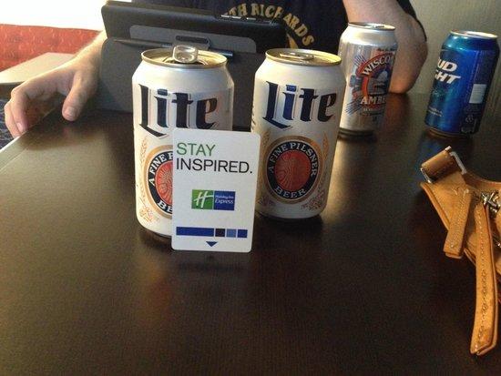 Comfort Inn Madison - Downtown : Free drinks