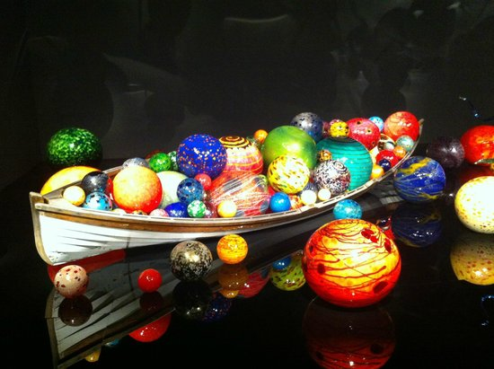 Chihuly Garden and Glass : .......float heaven