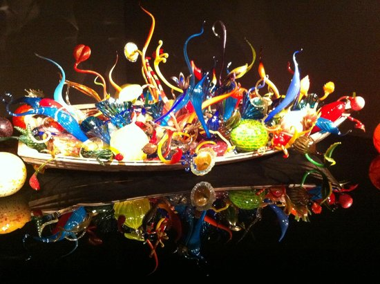 Chihuly Garden and Glass : ......a boat full of joy