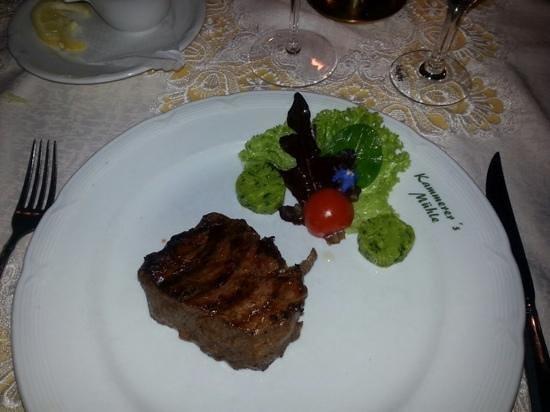 Kammerersmühle: Perfect Sirloin Steak