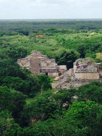 Club Med Cancun Yucatan: Exploring Mayan ruins in Ek Balam