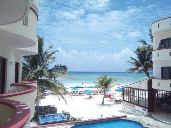 Hotel All Riviera: Vista desde la habitación