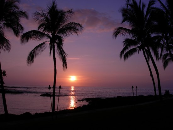 Fairmont Orchid, Hawaii : 夕暮れ