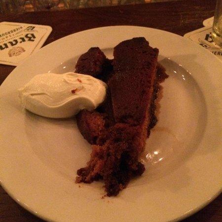 Van Kerkwijk : Beer torte. Excellent ending to an amazing meal!
