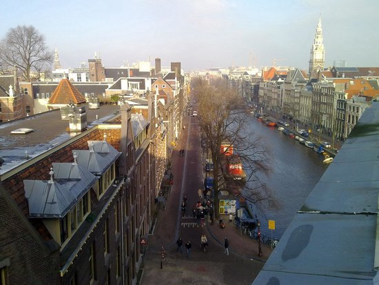 NH Collection Amsterdam Doelen: Room with a view