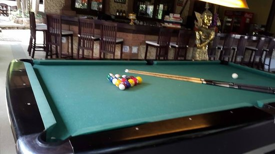 Crazy Kangaroo : our proffesional pool table