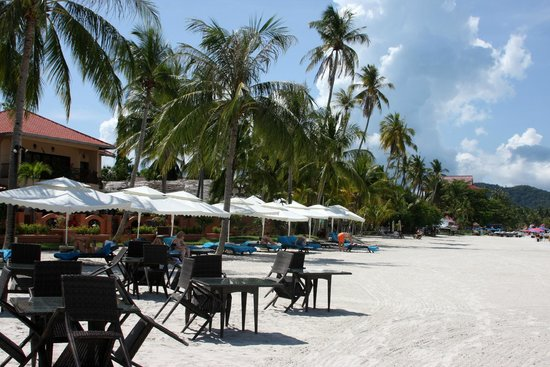 Casa del Mar, Langkawi: пляж, ужины на берегу очень хорошие