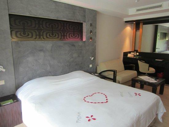 Manava Suite Resort Tahiti : Chambre
