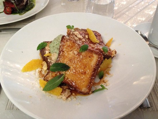 Hawksworth Restaurant: French toast