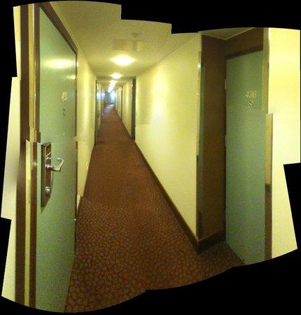 Radisson Blu Seaside Hotel, Helsinki: Typical hallway / passage