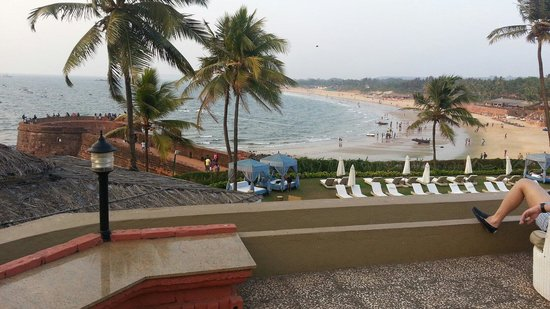 Vivanta by Taj - Fort Aguada, Goa : View from one of the Terrace gardens.