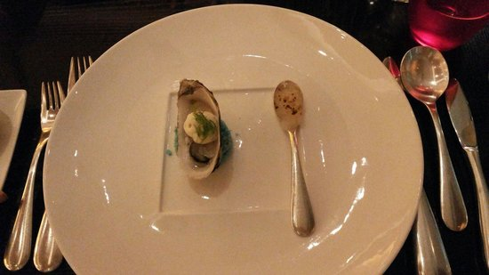 Angelini: Grilled oyster