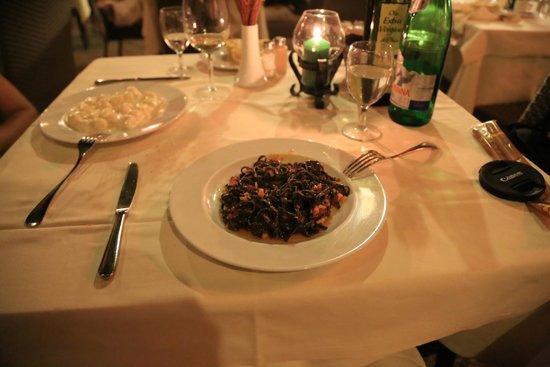 Ristorante Al Giardinetto da Severino: pasta with lobster sauce
