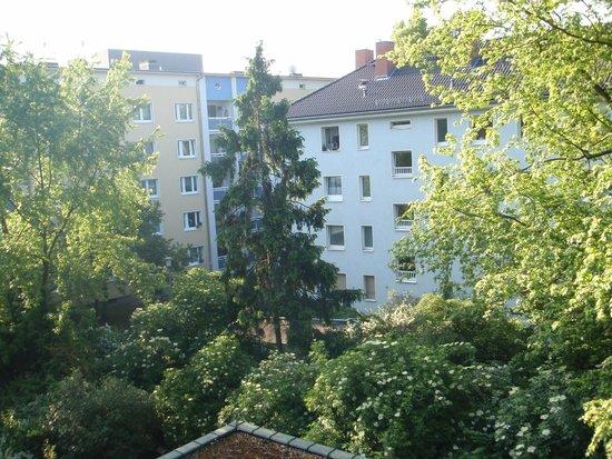 Das Spenerhaus: Вид из номера во внутренний дворик