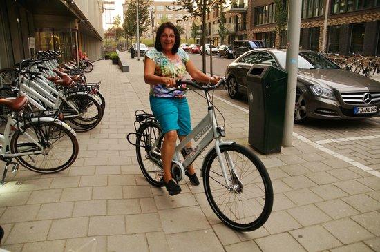 Hotel Casa 400: I sat on a bike!!