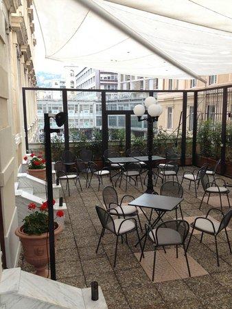Hotel Bristol Palace: terrazza esterna