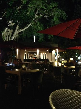 The Village: outdoor dining
