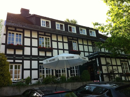 Landhotel Gasthof Büker: Voorkant Hotel Buker