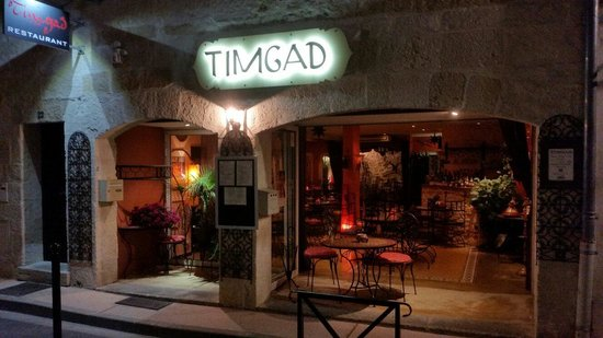 Timgad : La nuit