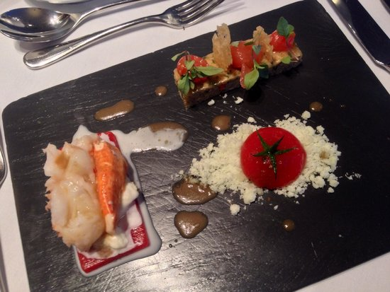 Restaurant at The Hotel Portmeirion: Homard