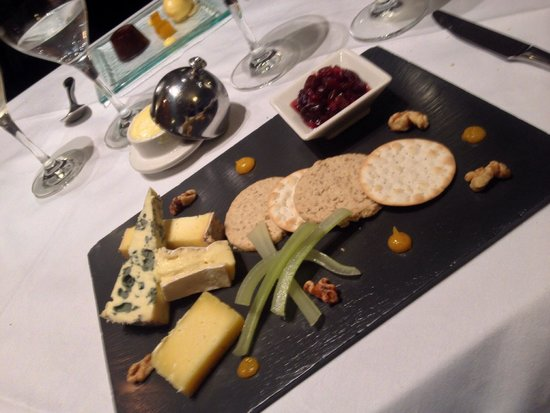 Restaurant at The Hotel Portmeirion: Fromages