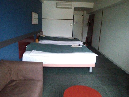 Hotel Aile : ホテルエールの客室(ツイン)