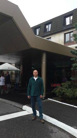 Crown Piast Hotel & Park: Entrance