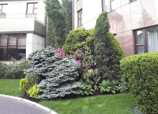 Crown Piast Hotel & Park: Garden