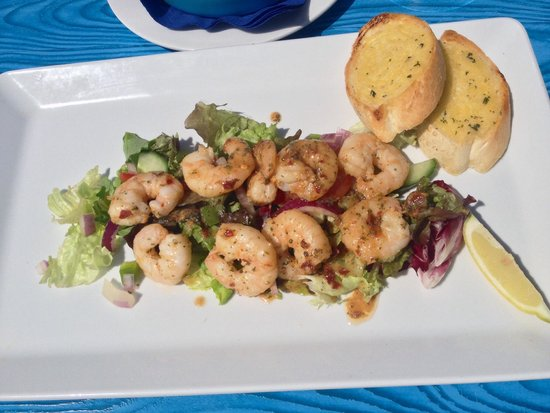 The Harbourfront Bistro: Crevettes