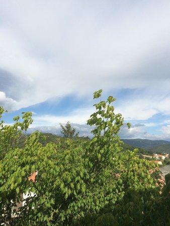 Le Ceretan Hotel : Vu montagne