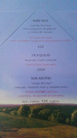 Lio : menu