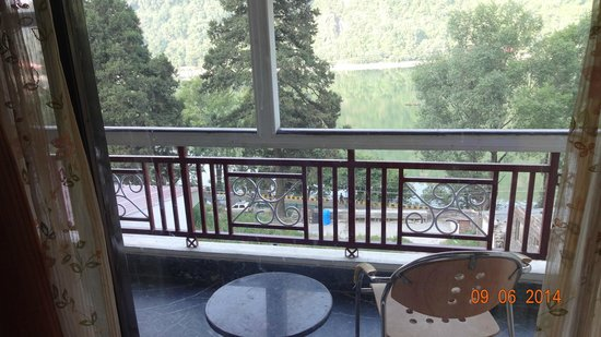 Hotel Krishna: Balcony